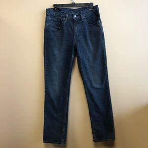 Levi's 514 dark wash straight fit Jeans 31*32